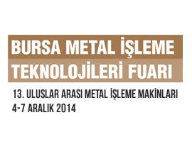 13. ULUSLAR ARASI METAL İŞLEME MAKİNLARI 4-7 ARALIK 2014